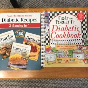 Other - 4 for $10 Diabetic cookbooks